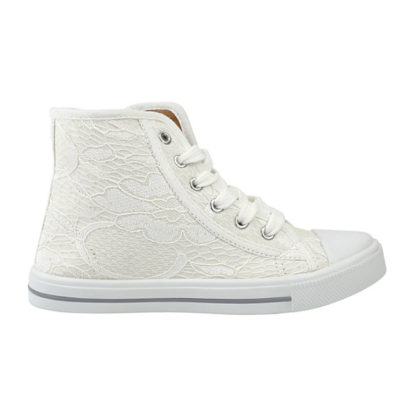 OMGirl Sabrine Lace Girls High-Top Sneakers - Little Kids