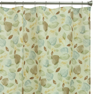 Bacova Guild Tetons Leaf Shower Curtain