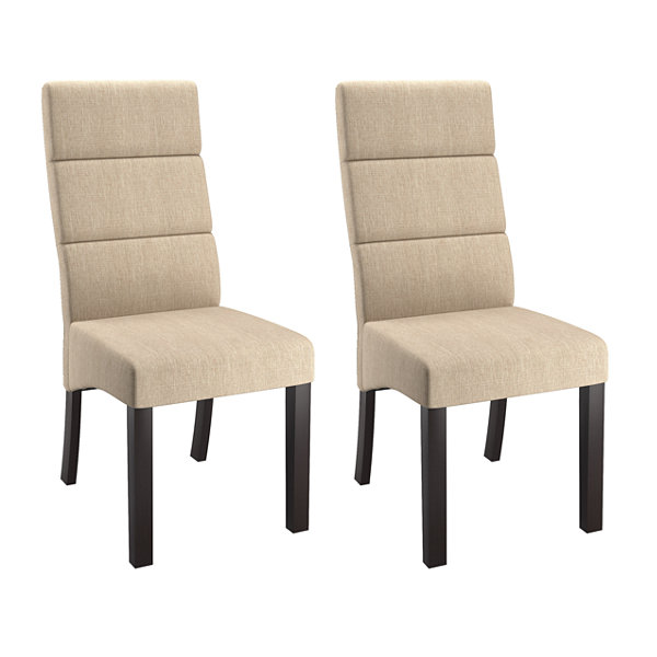 Antonio Tall Back Upholstered Dining Chairs Set Of 2