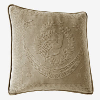 "Historic Charleston Collection™ King Charles 20"" Square Decorative Pillow"