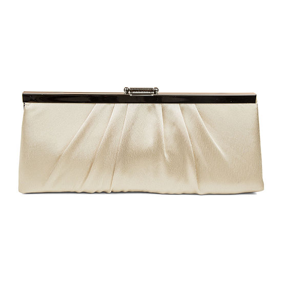 Gunne Sax by Jessica McClintock Blaire Pleats To Meet You Clutch Evening Bag