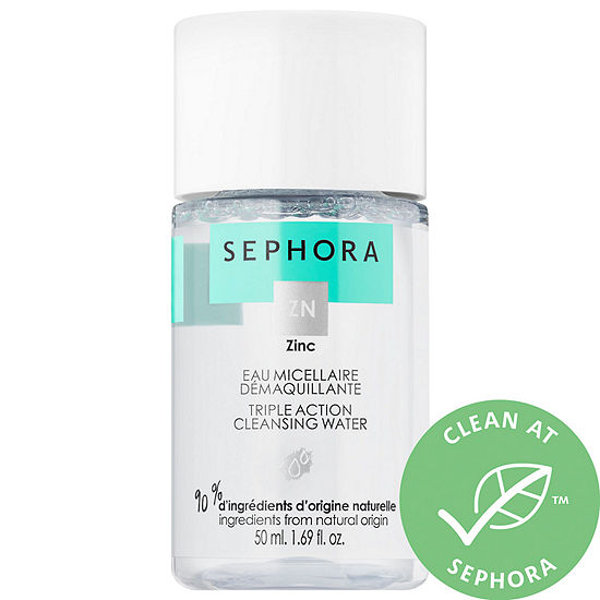 SEPHORA COLLECTION Mini Triple Action Cleansing Water - Cleanse + Purify