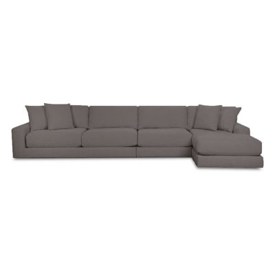 Fabric Possibilities Ponderosa 3-Piece Left Arm Chaise Sectional