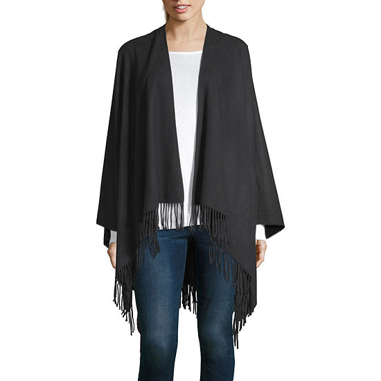 Mixit Solid Pashmina-Style Wrap