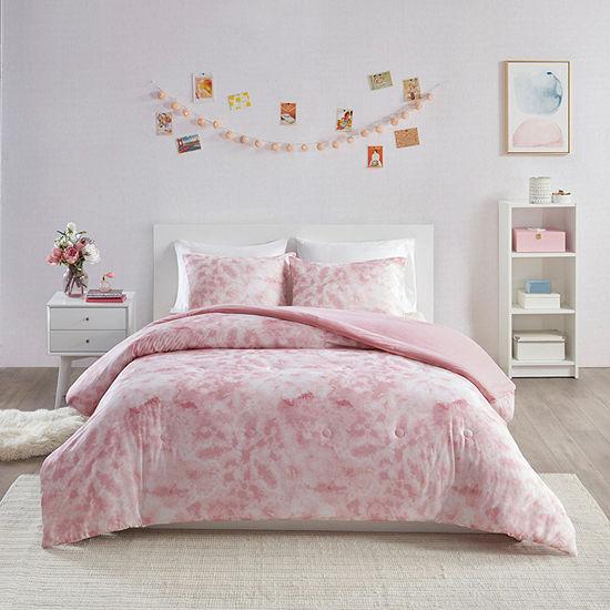 Intelligent Design Hailey Printed Jersey Knit Comforter Set