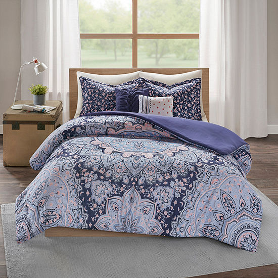 Intelligent Design Skye Medallion Duvet Cover Set