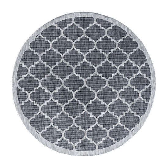 Tayse Irving Round Indoor Rugs