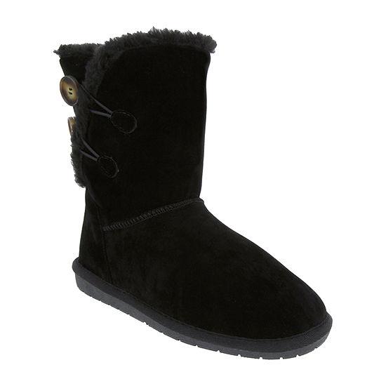 Sugar Womens Marty Winter Flat Heel Boots