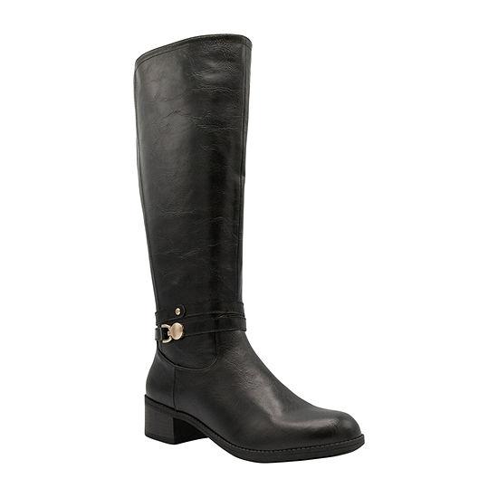 Sugar Womens Lizzie Riding Boots Flat Heel