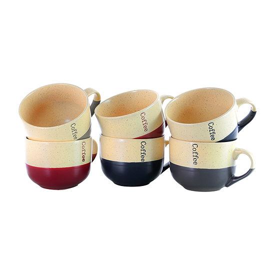 Elama Latte Loft 6-pc. Coffee Mug