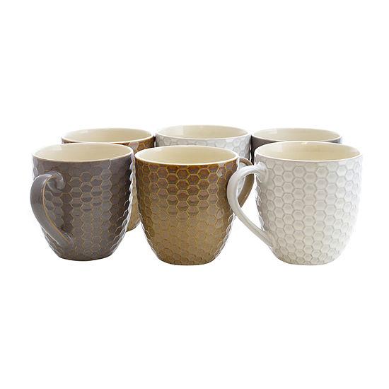 Elama Honeycomb 6-pc. Coffee Mug