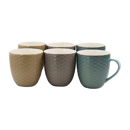Elama Honeysuckle 6-pc. Coffee Mug