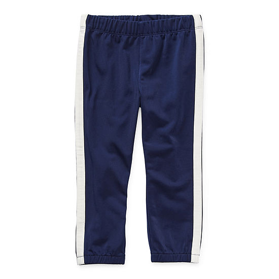 Okie Dokie Toddler Boys Mid Rise Tapered Track Pant