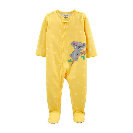 Carter's Baby Girls Long Sleeve One Piece Pajama