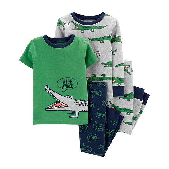 Carter's Baby Boys 4-pc. Shorts Pajama Set