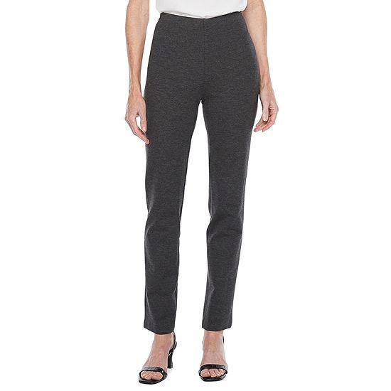 Liz Claiborne-Tall Womens Straight Pull-On Pants