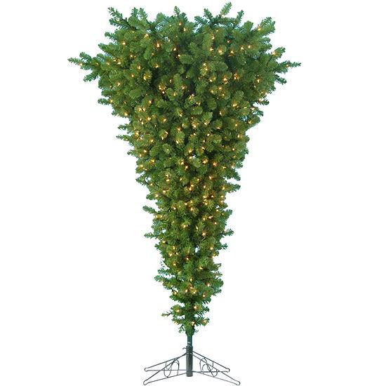5' Pre-Lit Upside Down Christmas Tree