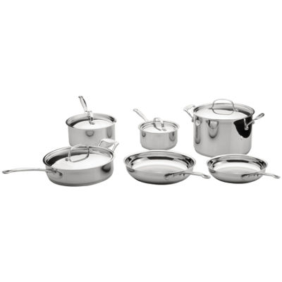 BergHOFF® 10-pc. Earthchef Premium Copper Clad Cookware Set