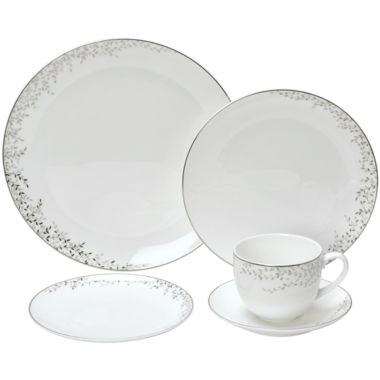 jcpenney.com | Mikasa® Shimmer Vine Bone China Dinnerware Collection