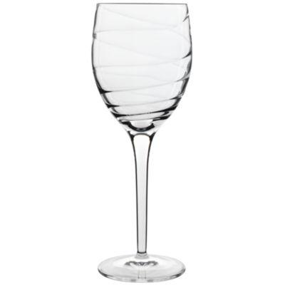 Luigi Bormioli Set of 4 Romantica White Wine Glasses