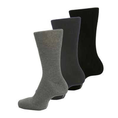 Gentle Grip 3-pk. Crew Socks