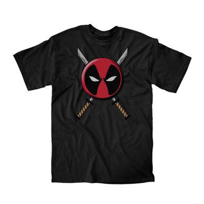 Marvel Deadpool Swords Graphic Tee