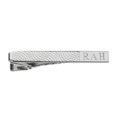 Personalized Snakeskin Pattern Tie Bar
