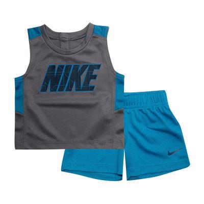 Nike Sets 2-pc.Block Muscle Tee Short Set - Boys