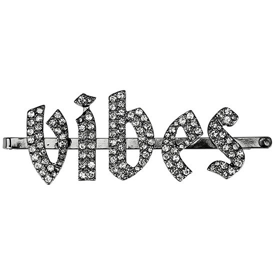 Kitsch X Justine Marjan Rhinestone VIBES Bobby Pin