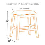 Signature Design by Ashley® Caitir Set of 2 Counter Height Upholstered Stools