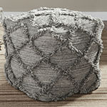 Signature Design by Ashley® Adelphie Diamond Pouf Ottoman