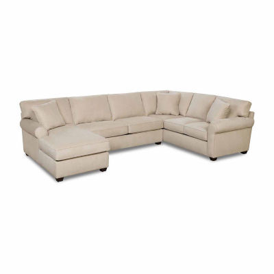 Fabric Possibilities Roll Arm Left Arm Chaise 3-Pc Sectional