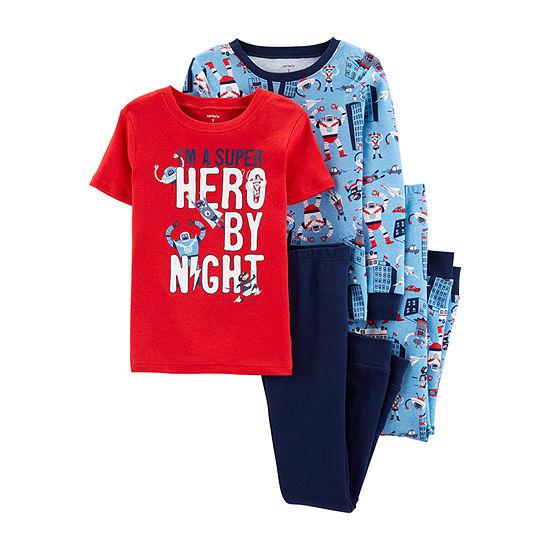 Carter's Boys 4-pc. Pajama Set Preschool / Big Kid