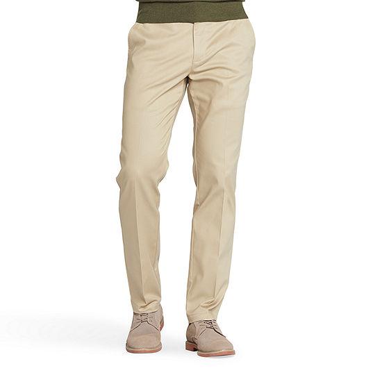 Lee Total Freedom Mens Slim Fit Flat Front Pant