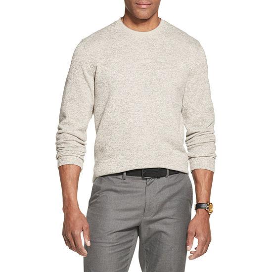 Van Heusen Mens Crew Neck Long Sleeve Sweatshirt