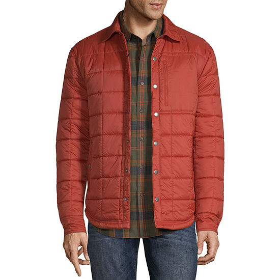 St. John's Bay Outdoor Quilted Lightweight Shirt Jacket