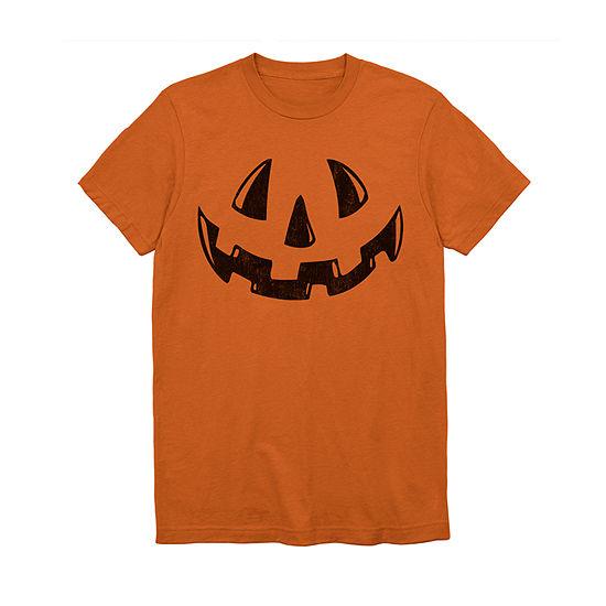 Mens Jack-O'-Lantern Graphic T-Shirt