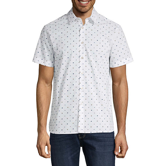 Axist Floral Print Short Sleeve Shirt