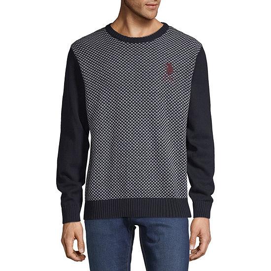U.S. Polo Assn. Crew Neck Long Sleeve Pullover Sweater