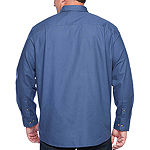 The Foundry Big & Tall Supply Co. Mens Long Sleeve Button-Down Shirt