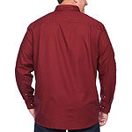 The Foundry Big & Tall Supply Co. Big and Tall Mens Long Sleeve Button-Down Shirt