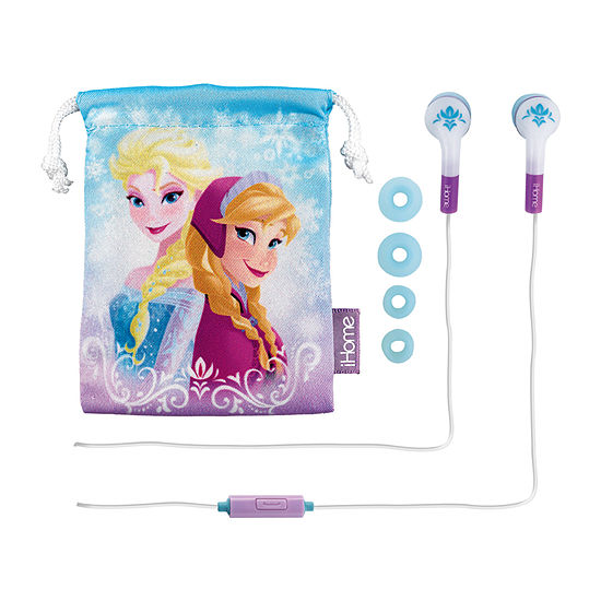 Frozen 2 Earbuds with Mic and Pouch