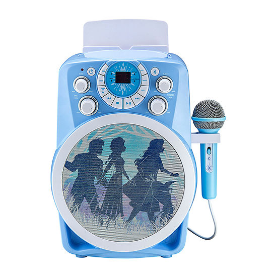 Frozen 2 Bluetooth CDG Karaoke with Microphone