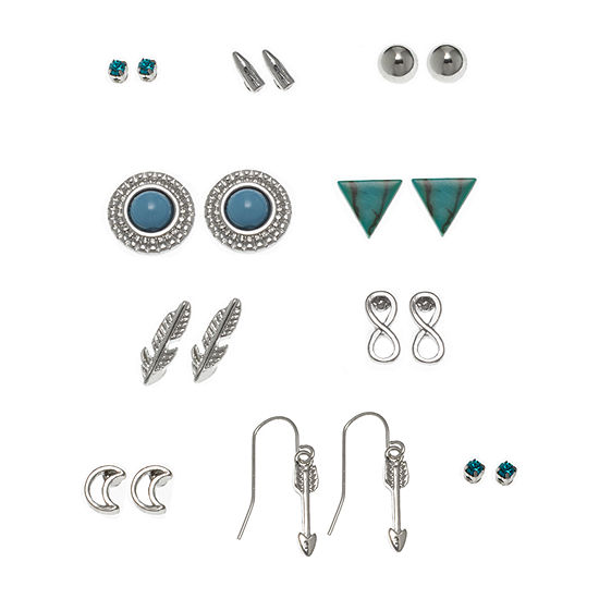 Arizona 10 Pair Earring Set