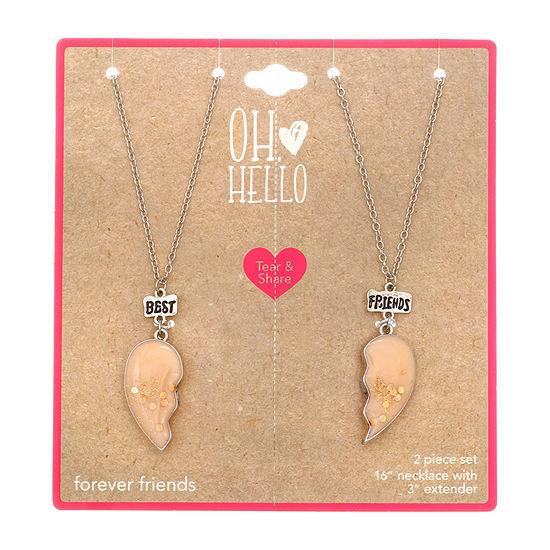 Oh Hello Launch Girls Heart Pendant