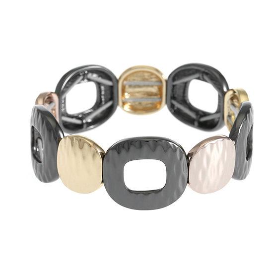 Liz Claiborne Square Stretch Bracelet