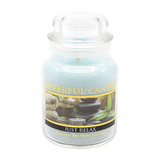 A Cheerful Giver 6oz Just Relax Jar Candle