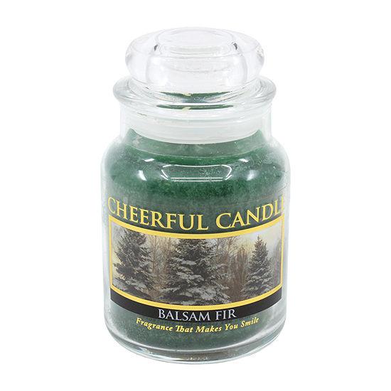 A Cheerful Giver 6oz Balsam Fir Jar Candle
