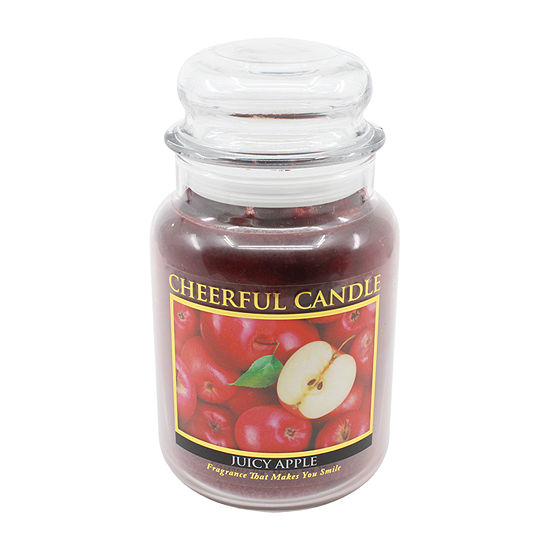 A Cheerful Giver 24oz Juicy Apple Jar Candle