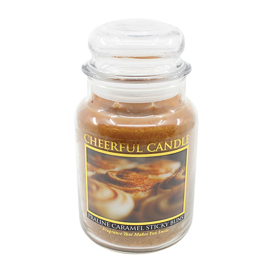 A Cheerful Giver 24oz Praline Carmel Sticky Buns Jar Candle